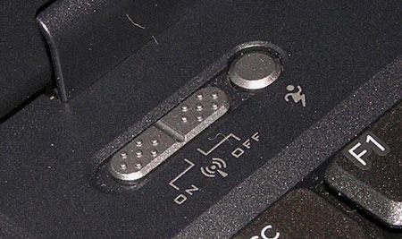 При питании от сети доступны пять режимов работы, от аккумулятора - семь.  ASUS W5Fe: две быстрые клавиши.
